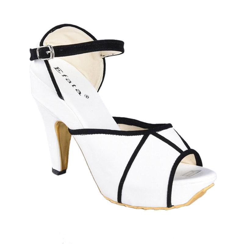 EFATA Sepatu SN-202 High Heels Wanita - Putih
