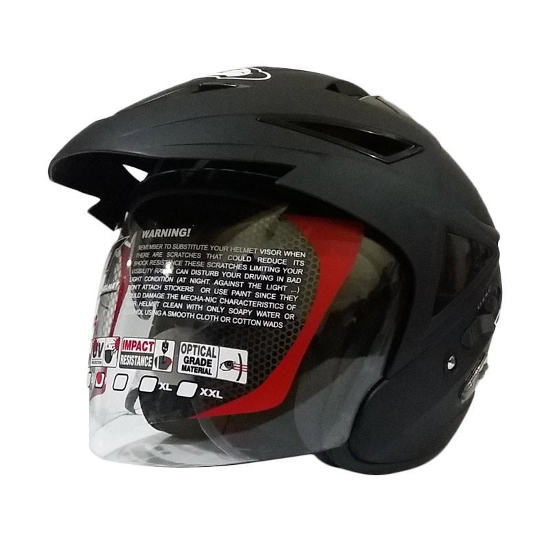 harga KYT Scorpion King Helm Half Face - Black Doff Blibli.com