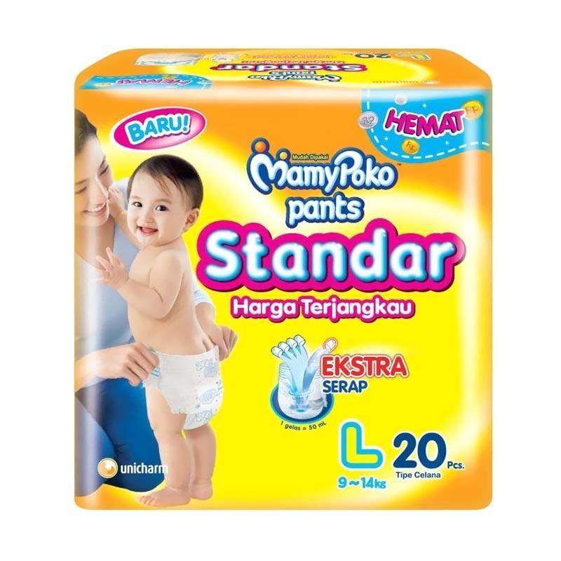 MamyPoko Standar Popok Pants [Size L/20 Pcs]