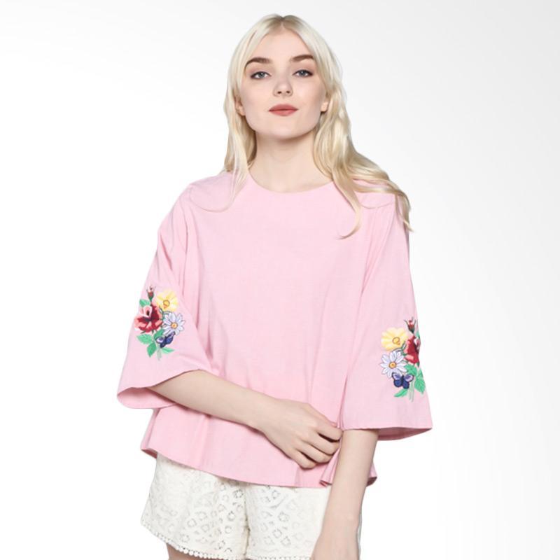 Rodeo Blouse Shirt Polos 817.0319.PNK Atasan Wanita - Pink
