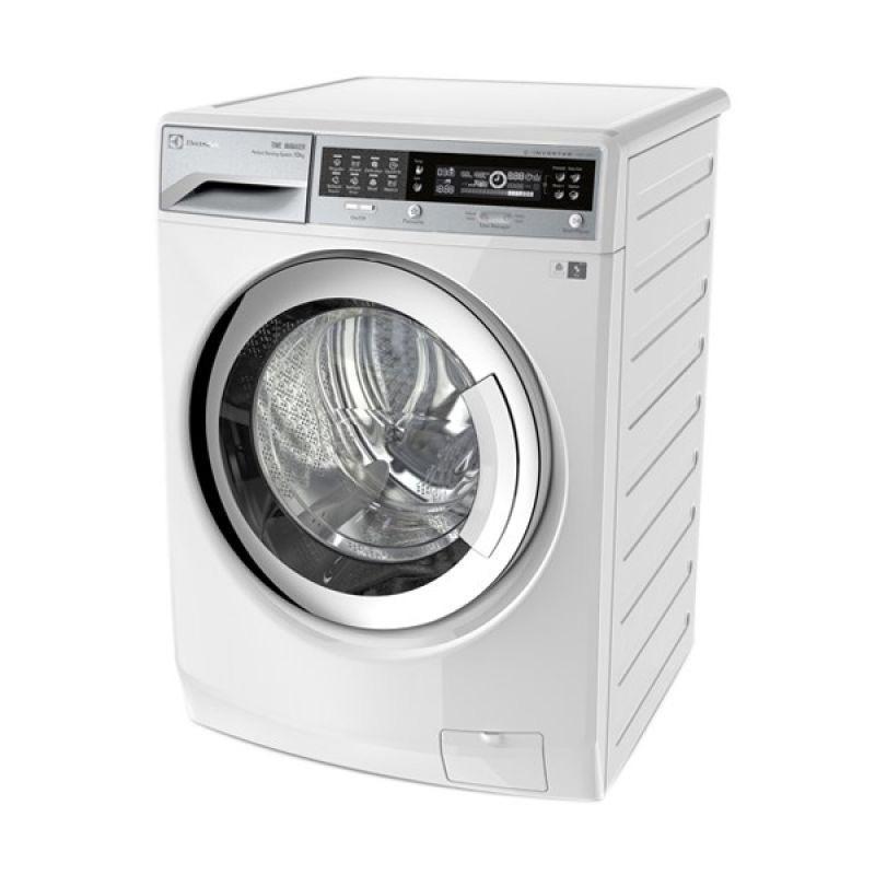Electrolux EWW-14113 Mesin Cuci Front Load+Dryer Star SaphireInverter[11 Kg/1400RPM] Putih