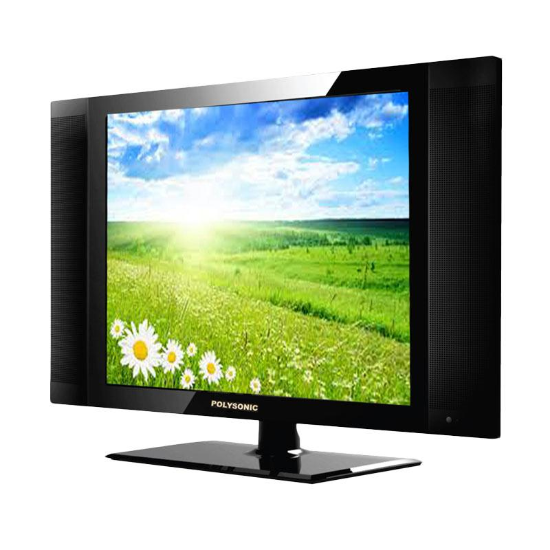 tv 15 inch. Polysonic 15A858i LED TV - Hitam [15 Inch] Tv 15 Inch K