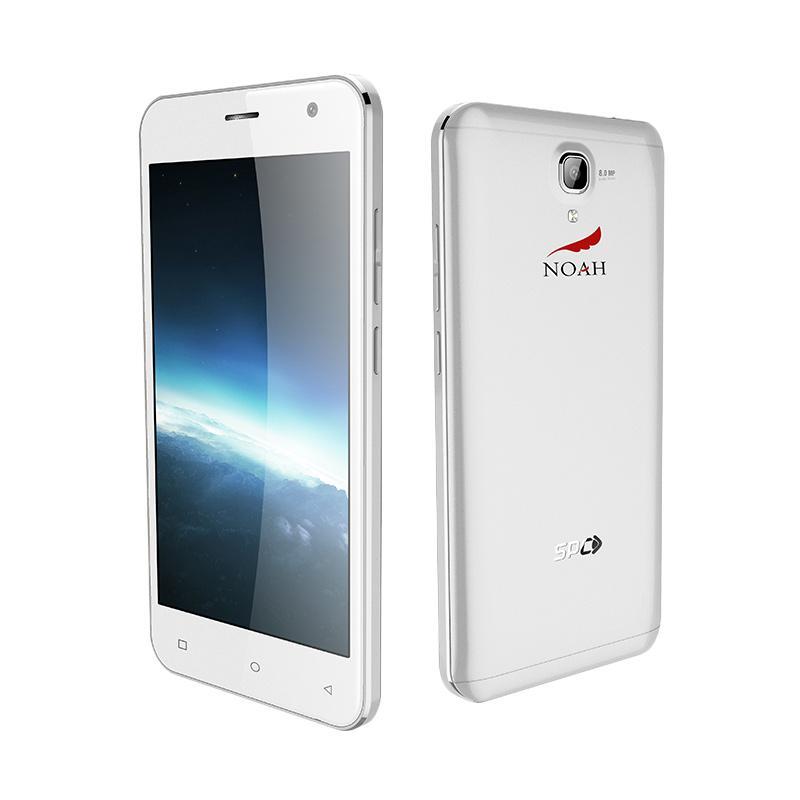 SPC Noah S12 Mercury Smartphone - Silver (Promo Sahabat Noah)