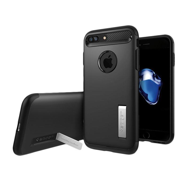 Spigen Slim Armor Casing for iPhone 7 Plus - Black