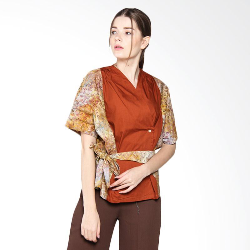 Debra Lunn DLWBL0193 BLPD cap Kimono (F) Spice Scratch Texture - Spice