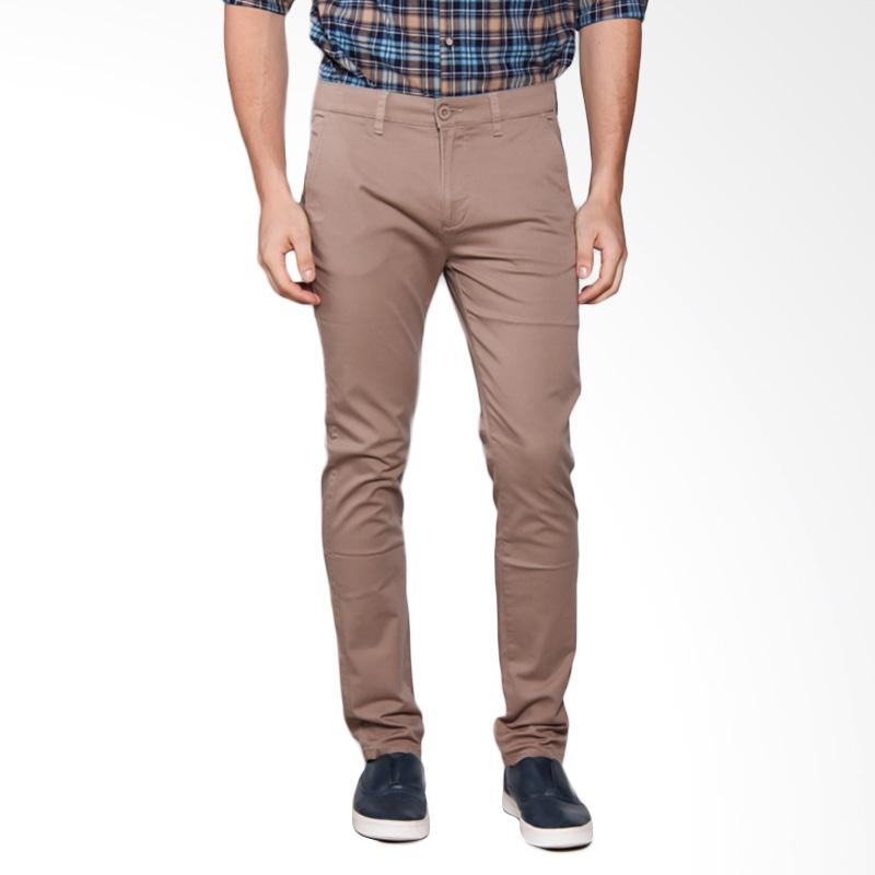 3SECOND Chinos Pants 0105 Celana Panjang Pria - Cream 101051713