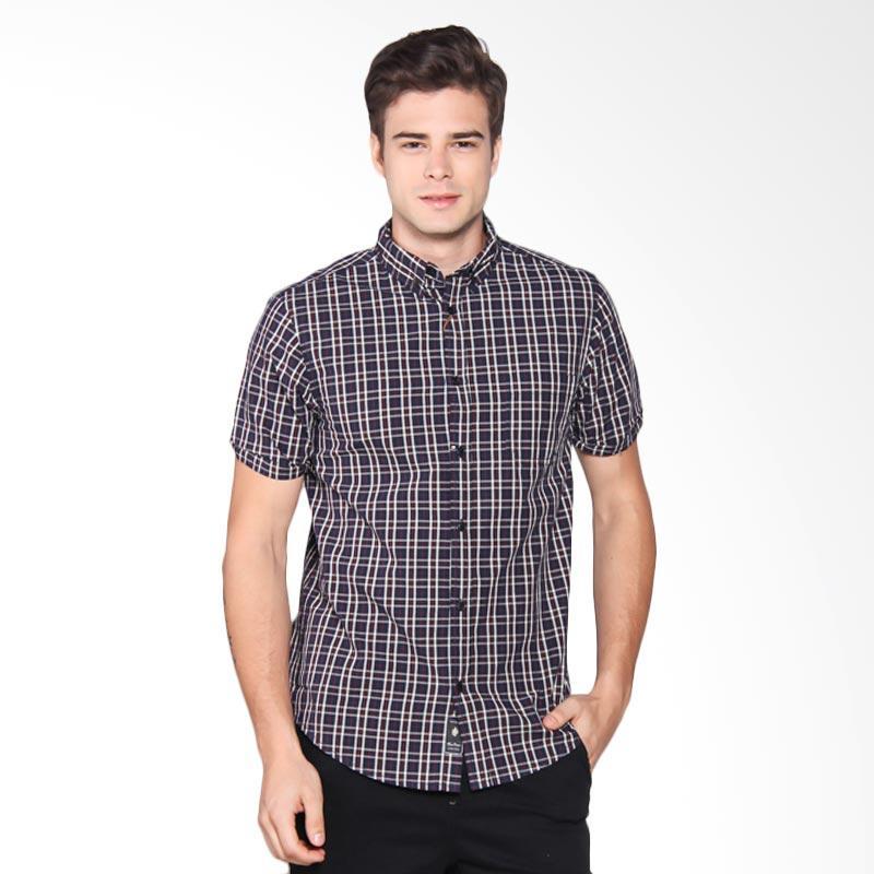 Famo Shirt Kemeja Pria - Blue 508061711