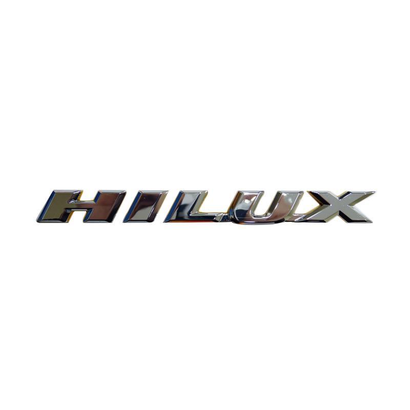 SIV EMB-120 Emblem Logo Tulisan Hilux Aksesoris Body Mobil