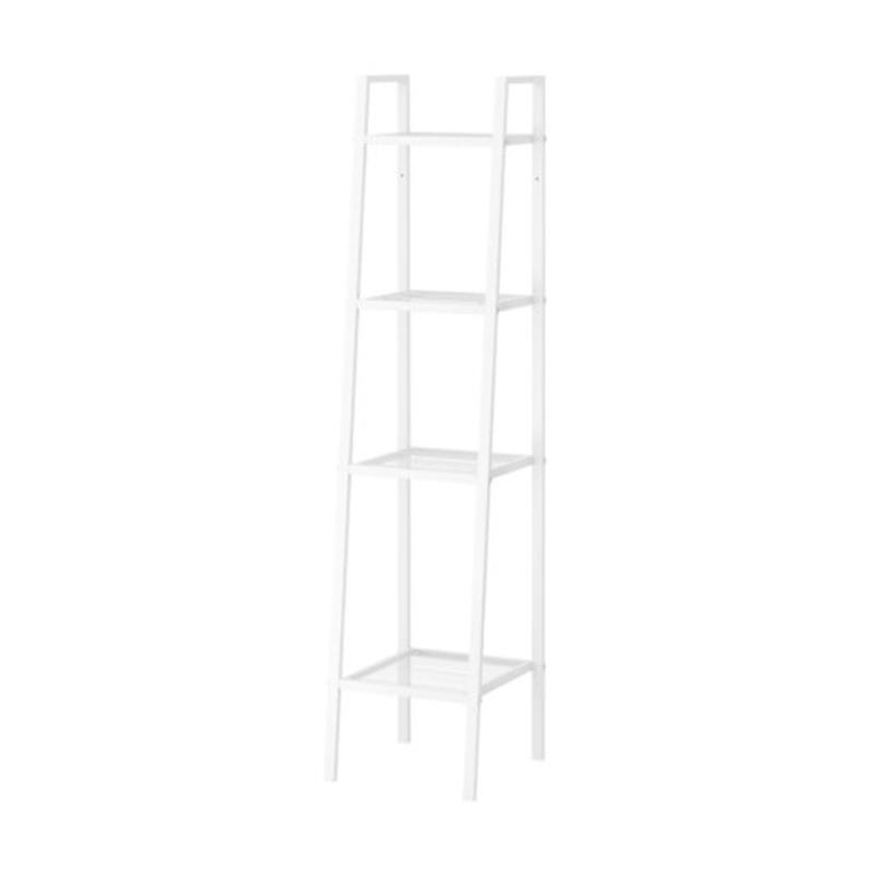 IKEA Lerberg Unit Rak - Putih [Lebar 35 cm/ 4 Susun]
