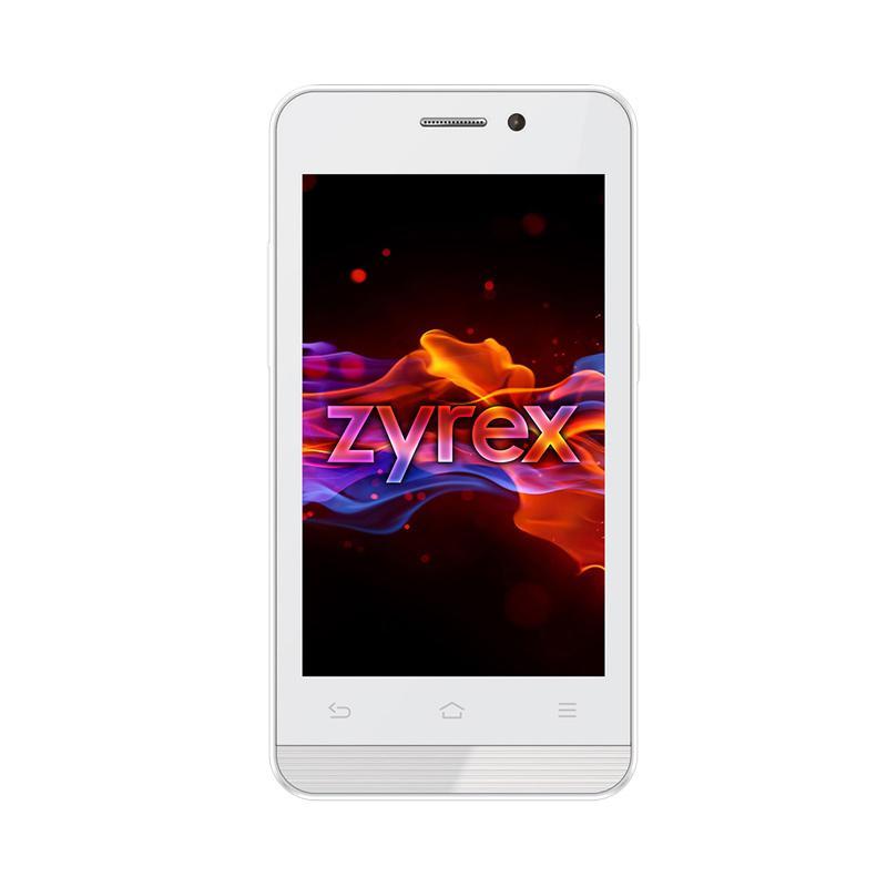 Zyrex ZA977 Smartphone - White [4.0 Inch/4GB/RAM 512 MB]