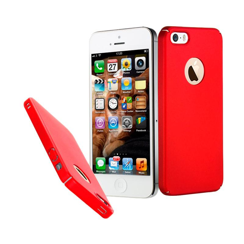 Baby Skin Ultra Thin Hardcase Casing for iPhone 5s - Red
