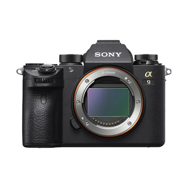 Sony Alpha A9 Digital Kamera Mirrorless (Body Only) + Grip GP-X1EM + Screen Protector PCK-LG1