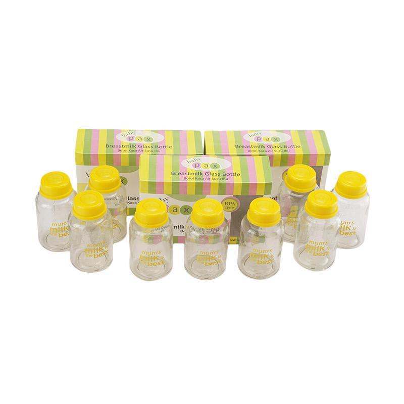 Baby Pax Paket Botol ASI Kaca [3 box]