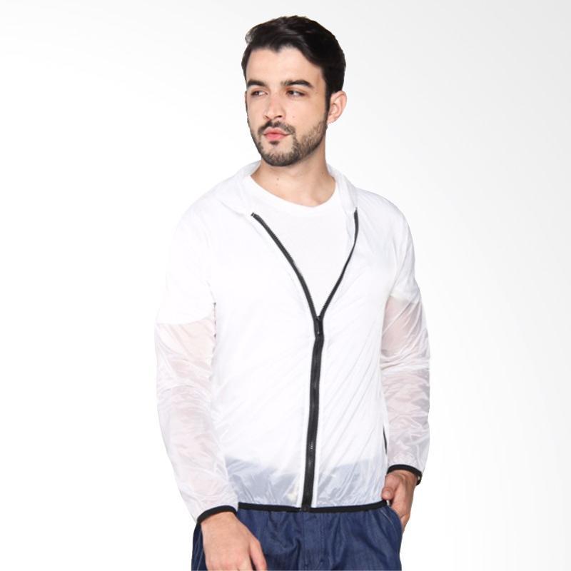 ZcoLand Warna Transparan Jaket - White