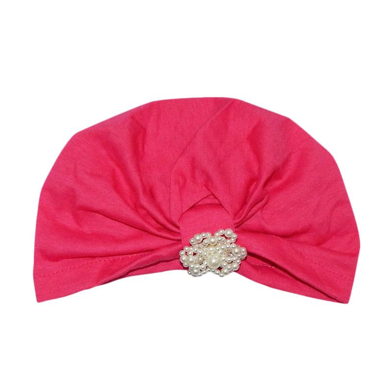 Wonderland G.Top Turban Bayi - Fuchsia