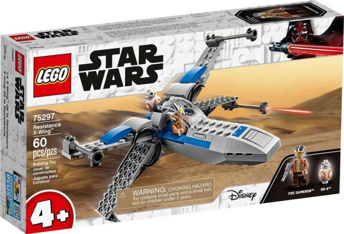Jual Lego Starwars 75297 Resistance X Wing Disney Aged 4 Up Toy Saga Play Terbaru Juli 2021 Blibli