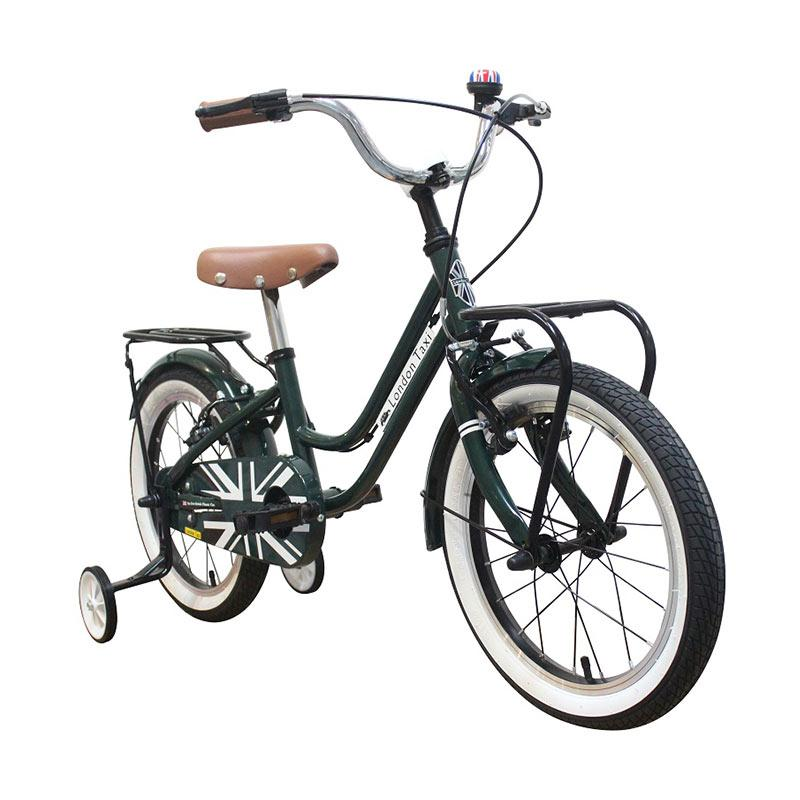 London Taxi Sepeda Anak - Green [16 Inch/New Arrival] - PRE ORDER