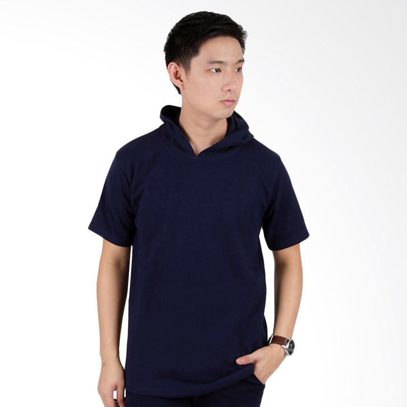 Poloshirt Lacost Neck Abu Tua Hijau Muda. Source · Kelebihan Kekurangan Elfs Shop Katun Polos Kaos Hoodie - Biru Dongker Dan Harganya