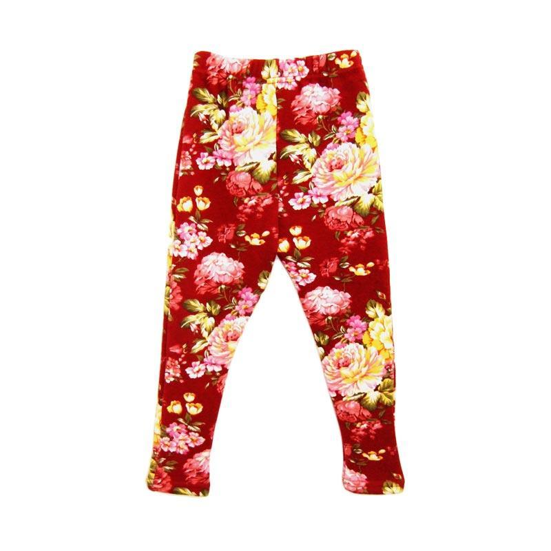 Jual Little Me Legging Winter Bunga Bunga 67454 Celana Anak Perempuan Maroon Online Oktober 2020 Blibli Com
