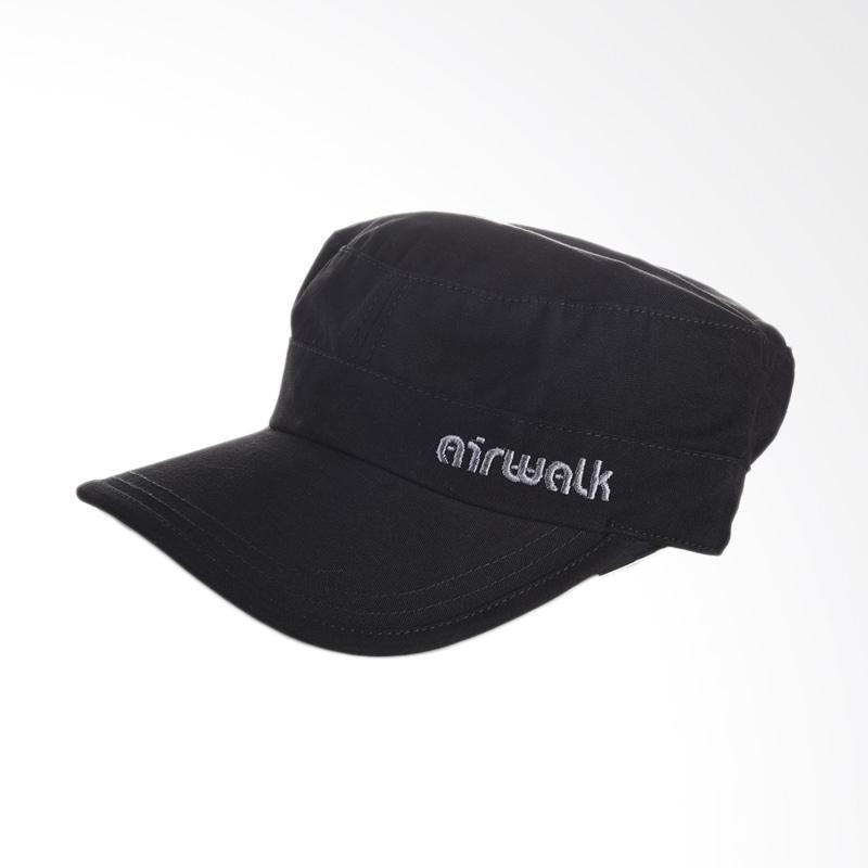 Airwalk Nolan Military Cap - Black [AIWHPM7504BC]