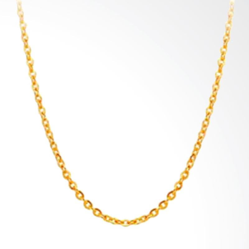 Tiaria Perhiasan Emas Kalung [24K/2.3 g]