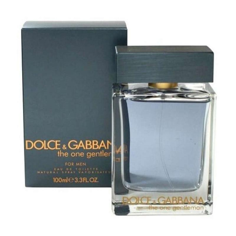 Dolce & Gabbana The One Gentleman EDT Parfum Pria [100 mL] Ori Tester Non Box