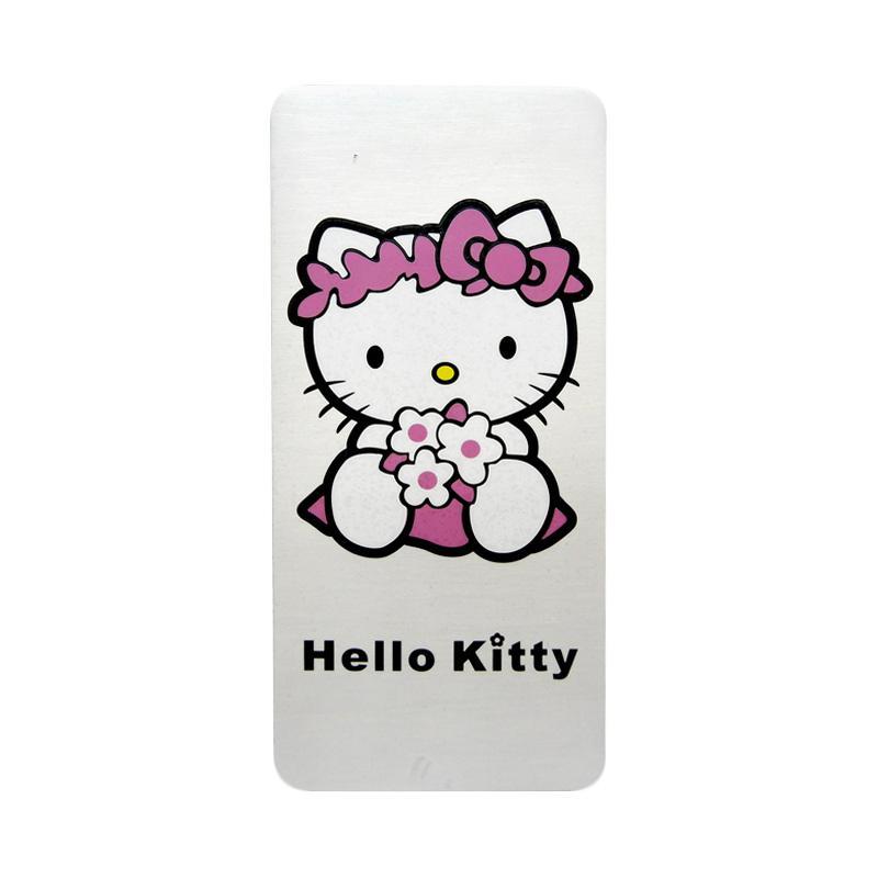 SIV EMB-KT601 Universal Plat Nomor Motif Hello Kitty Emblem Mobil