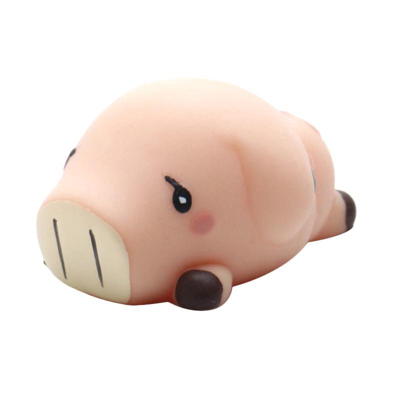 HAN MoniMoni Scented Original Korea Sleepy Pig Squishy - Pink