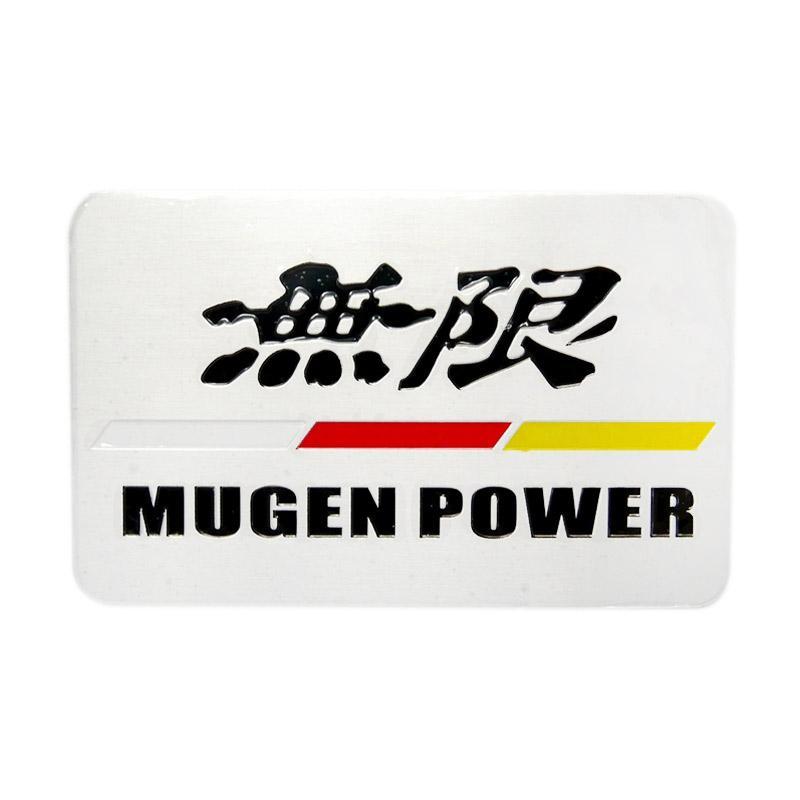 SIV EMB-MG03 Universal Mugen Power Emblem - Black