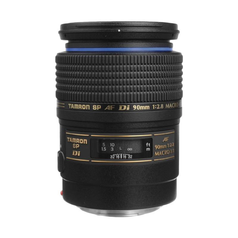 Tamron Lens AF 90mm Di F/2.8 Macro for Canon Lensa Kamera