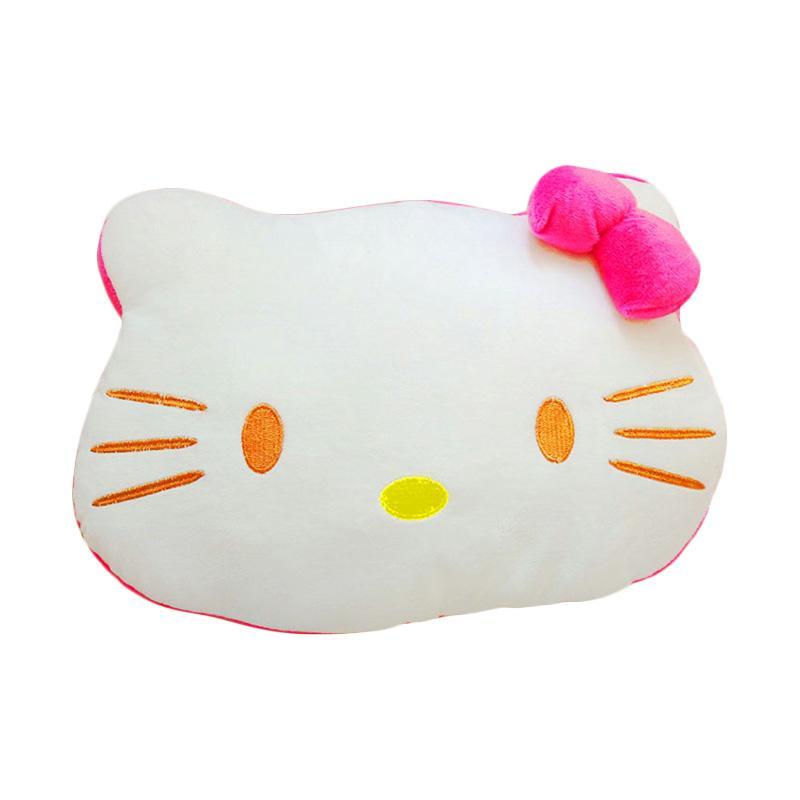 Istana Kado Bantal Hello Kitty s pink/putih