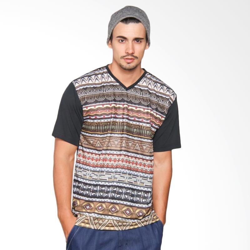 EpicMomo Pattern5 T-Shirt - Black AD.00147