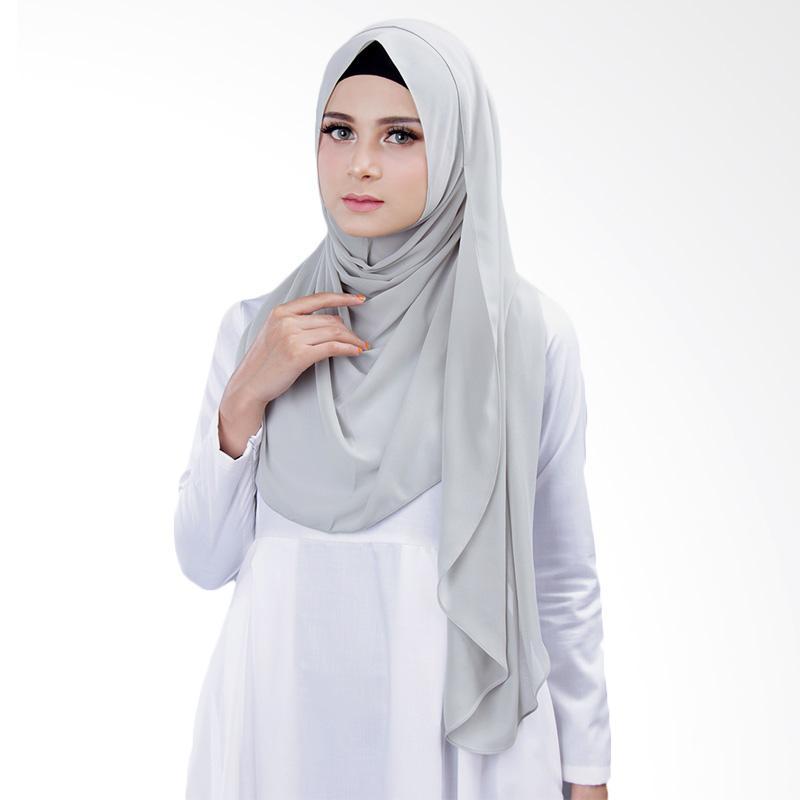 Cantik kerudung Bella Instant Shawl Hijab - Dusty Green No.10