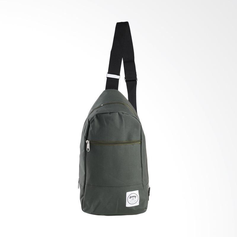 Hanan Project Shoulder Bag - Olive