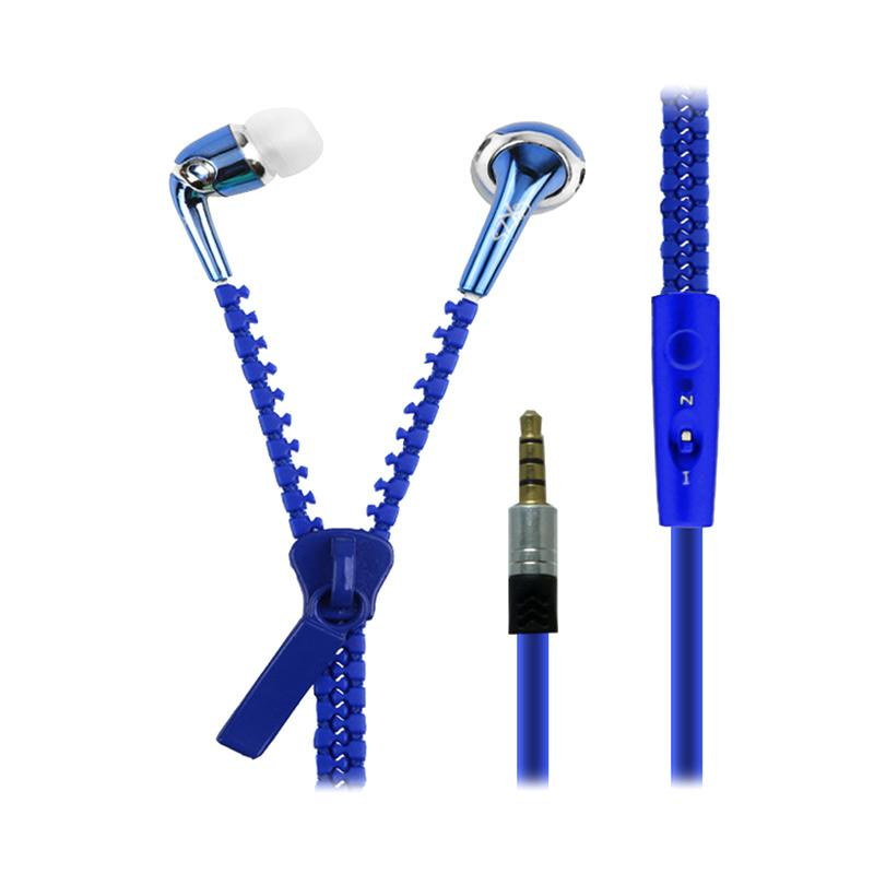 Zipper X-39 XZS Earphone - Biru