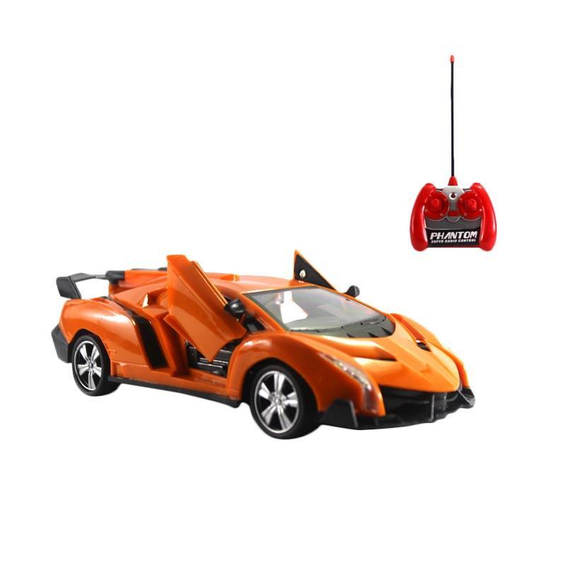 Yoyo Lamborghini Neo Mainan Remote Control - Orange