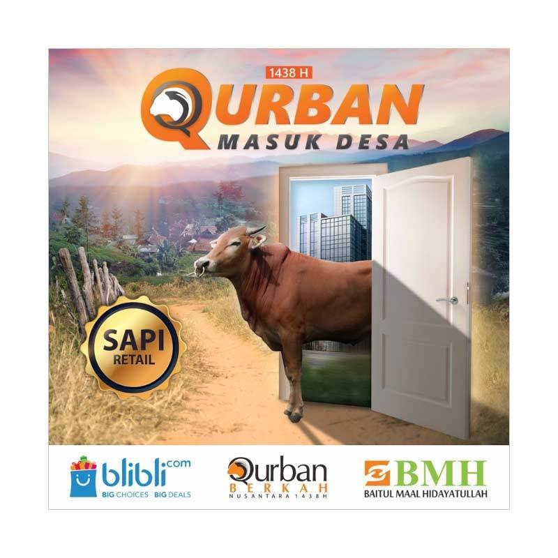 Qurban Sapi Retail - BMH Berkah Nusantara 1438 H [Program Qurban Masuk Desa]