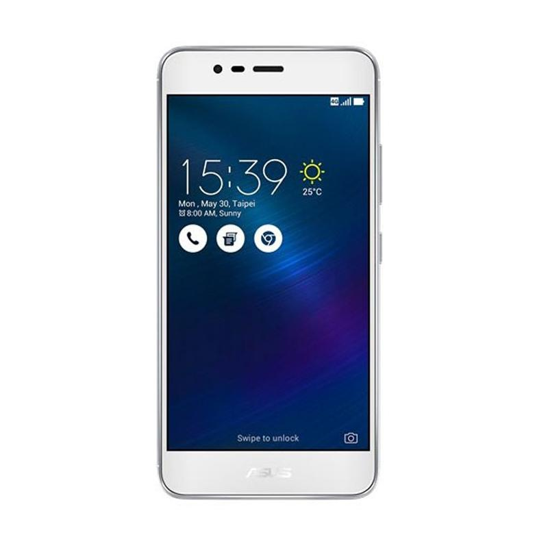 Asus ZenFone 3 Max ZC520TL Smartphone - Silver [32GB/ 2GB]