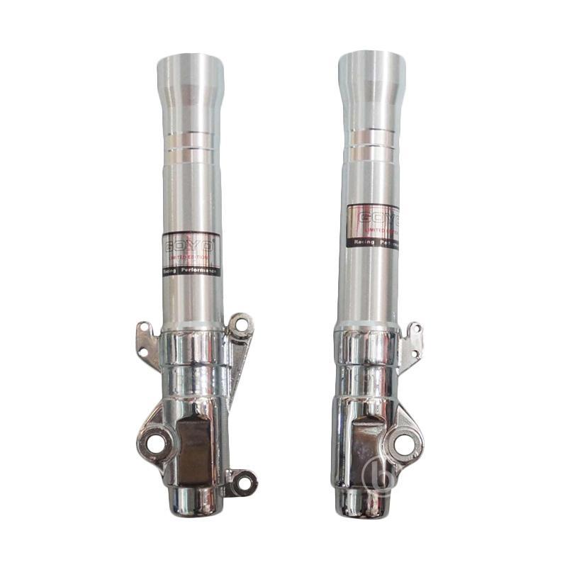 harga Goyo Bottom Tabung CNC Shock Depan Variasi for Scoopy FI ESP - Silver Blibli.com