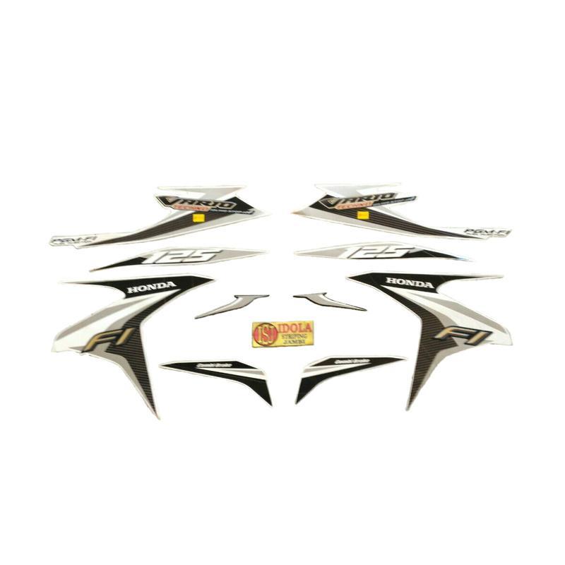 harga Idola Striping Aksesoris Motor for Vario Techno FI ISS 2014 - Putih Blibli.com