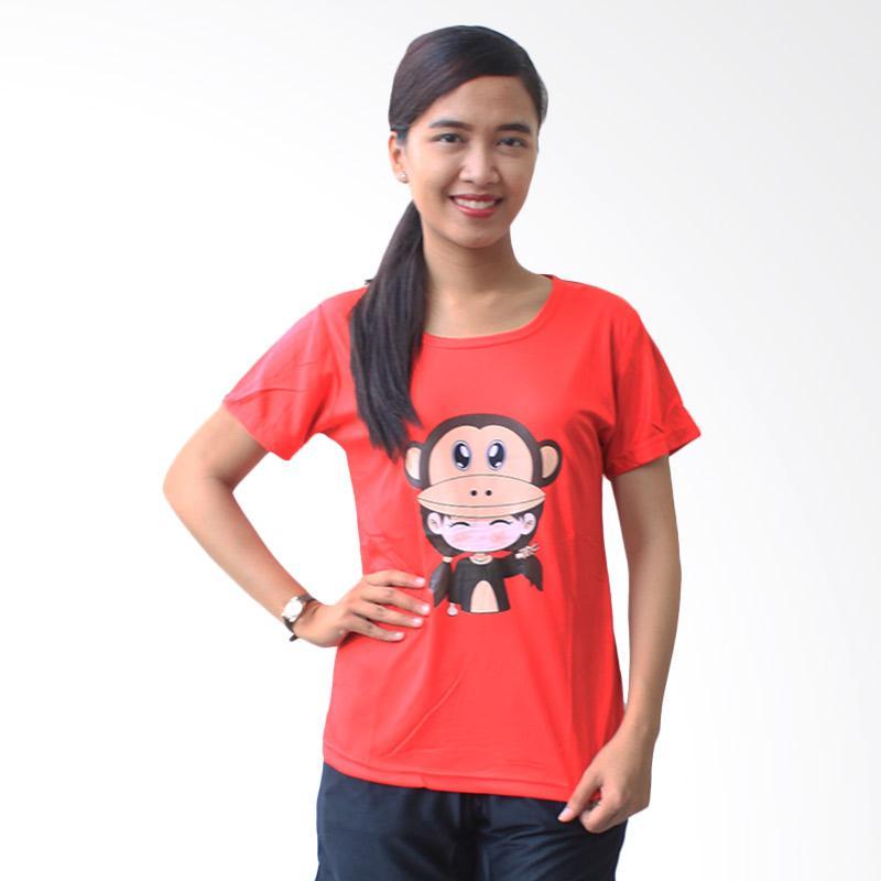 Aily SL020 Setelan Baju Tidur Wanita - Merah