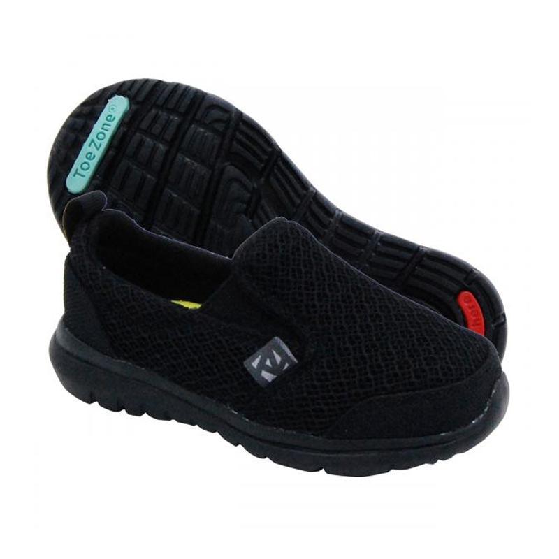 Toezone Kids Napa Ch Sepatu Anak - Black 2
