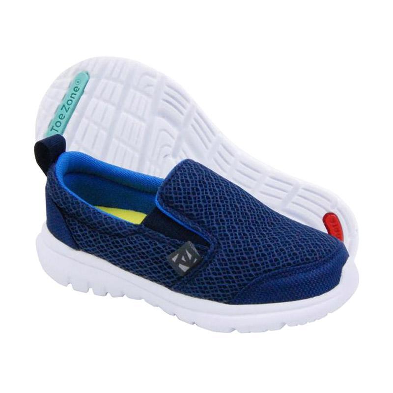 Toezone Kids Napa Ch Sepatu Anak Laki - Navy Blue 2