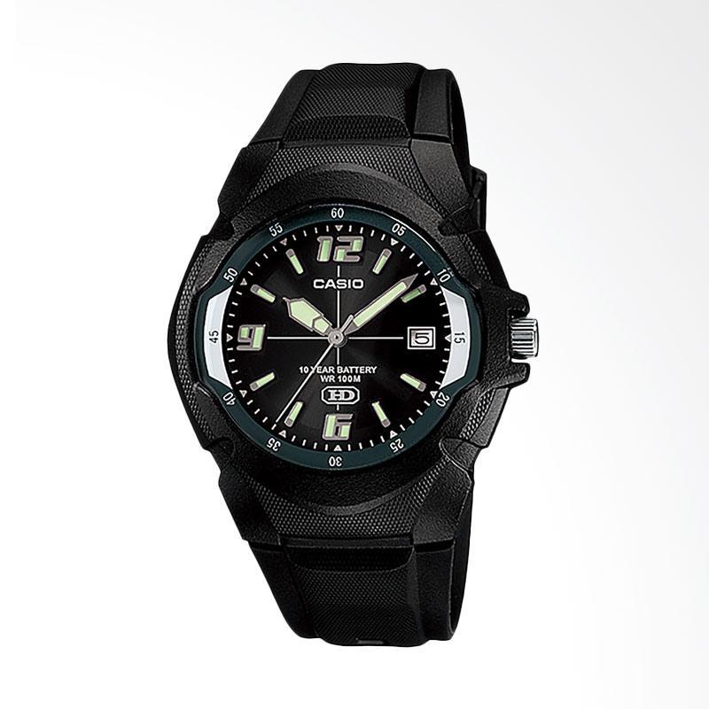 Casio MW-600F-1AVDF 10 Year Battery Life Jam Tangan Wanita - Black