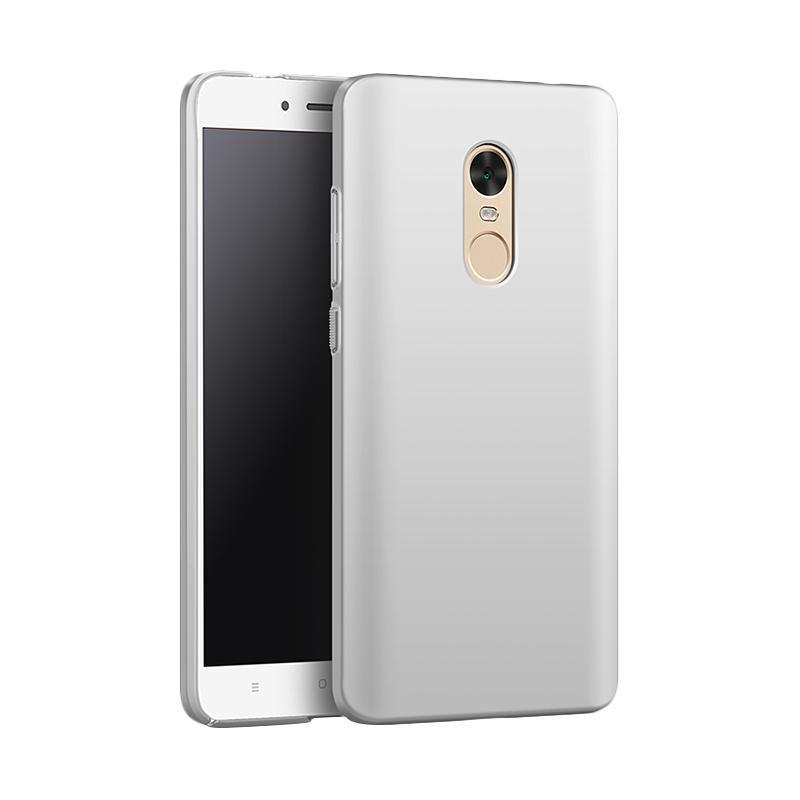 Jual WEIKA Baby Skin Ultra Thin Hardcase Casing for Xiaomi Redmi Note 4x - Silver [ Free Tempered Glass ] Online - Harga & Kualitas Terjamin | Blibli.com