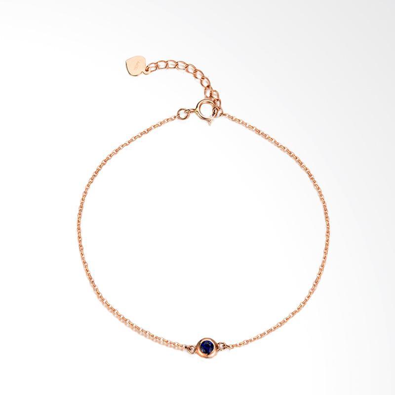 Tiaria Magnificent Sapphire Bracelet Perhiasan Gelang Emas [18K]