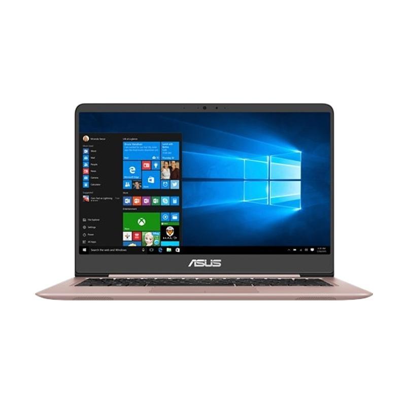 PROMO_Asus ZenBook UX410UQ-GV091T Notebook - Rose Gold [i7-7500U/8 GB/128 GB + 1 TB/GT 940MX 2 GB/14