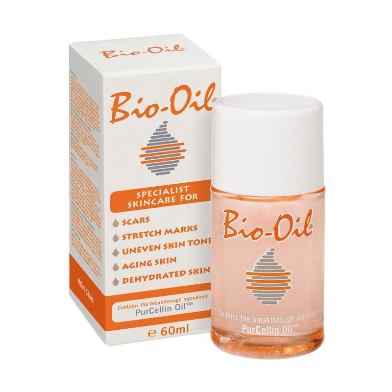Bio Oil Purchellin Oil 60ml - 3 pcs (PROMO FREE Polo Shirt)