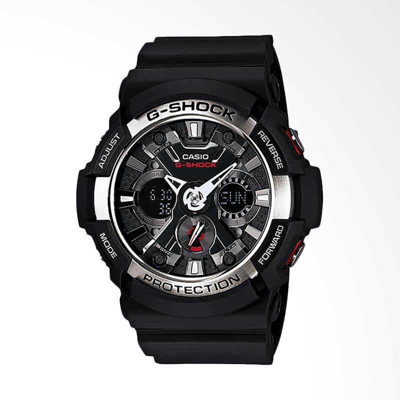 CASIO G-Shock Jam Tangan Pria - Black GA-200-1ADR