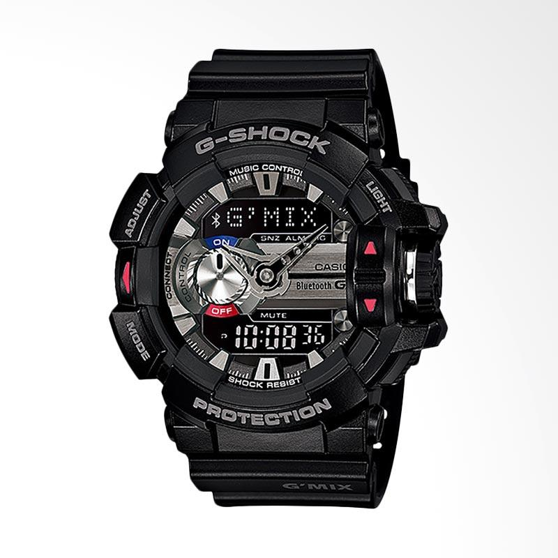 CASIO G-Shock GMIX Bluetooth Smart Jam Tangan Pria - Black GBA-400-1ADR
